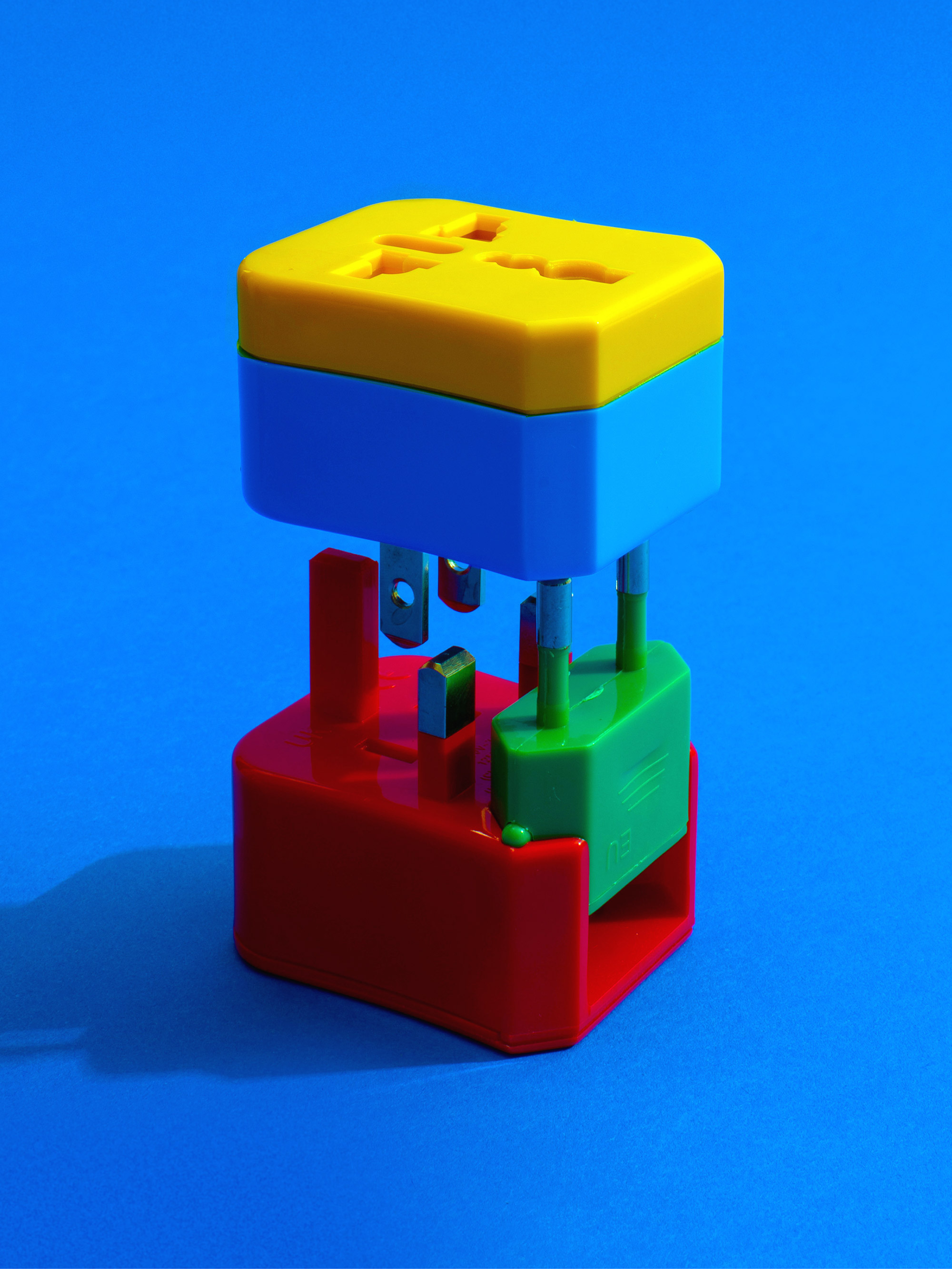 Color-coded 4-in-1 adapter by Flight 001