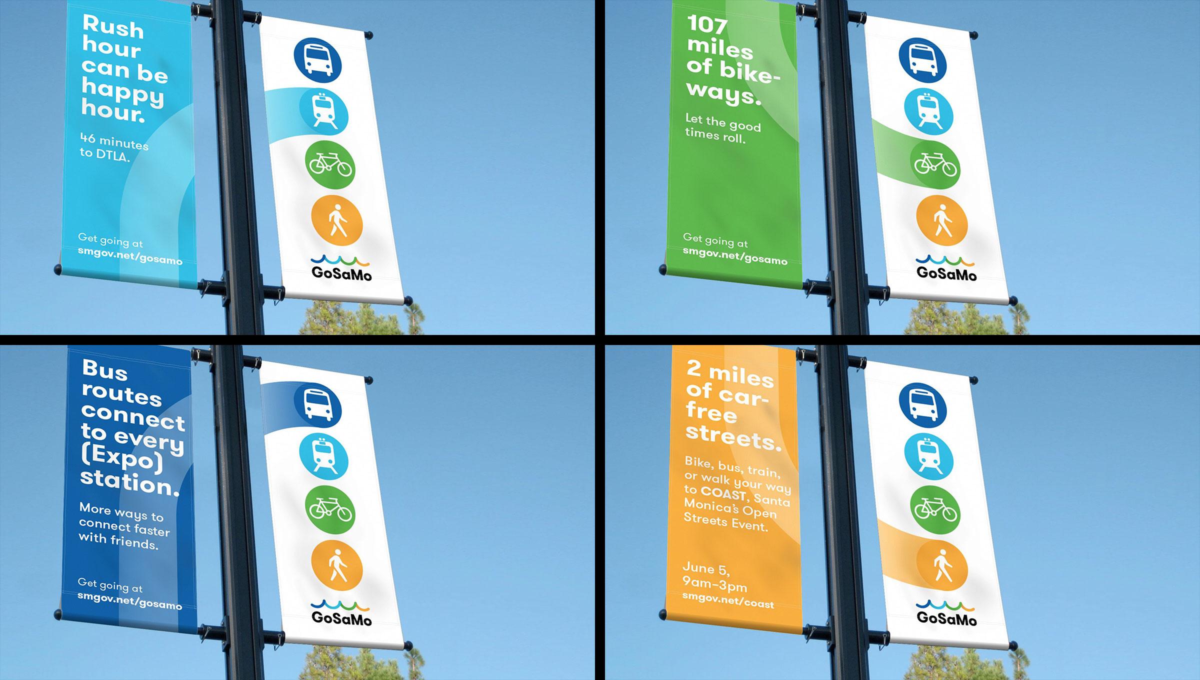 gosamo banner advertisements