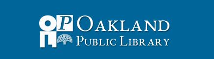 OAKLAND PUBLIC LIBRARY logo