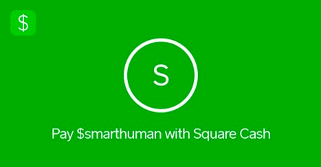 Donate to human-I-T with Square Cash