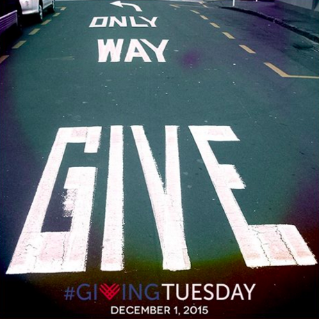 Giving Tuesday Is Almost There