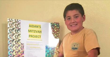 Harper Junior High Student Aidan Cohan Collects Technology for Those In Need