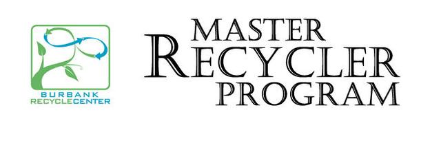 Burbank Master Recycler program logo