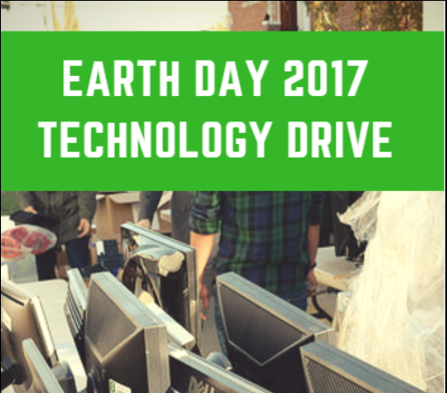 Earth Day 2017 Technology Drive | Herb Wesson meeting with technology recipients | OurCycle LA Event