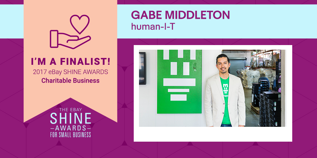 eBay SHINE Awards 2017 - Featured Finalist human-I-T