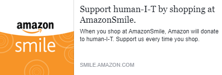 The Weekly Plug: Amazon Smile + human-I-T