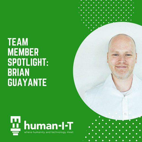 Team Member Spotlight: Brian Guayante