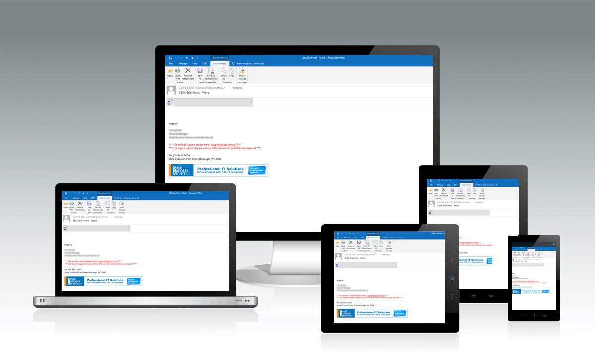 Email Signature Management
