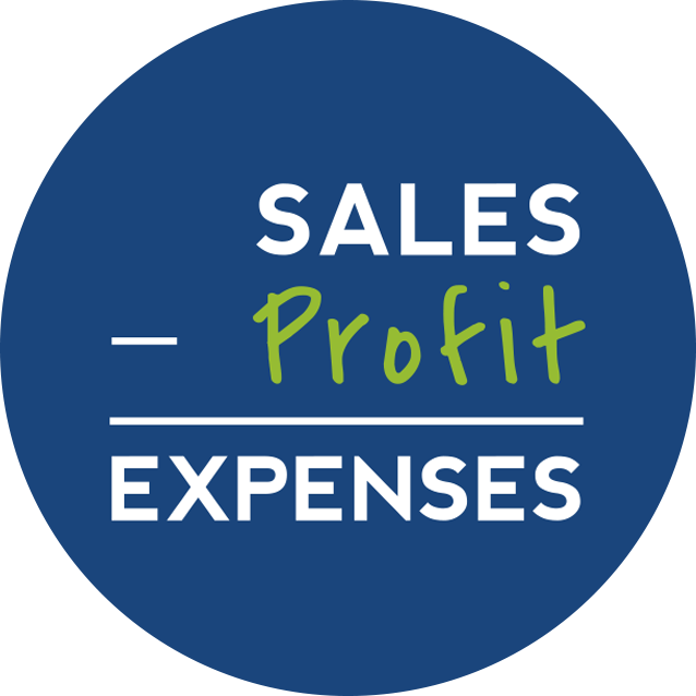 Profit First Equations Sticker |Exigo Business Solutions
