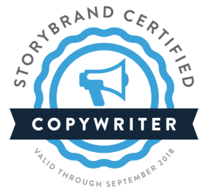 StoryBrand Certified Copywriter Badge