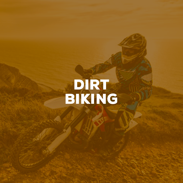 dirt-biking