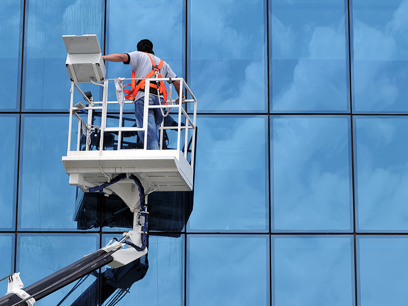 Commercial  Window Cleaning Services