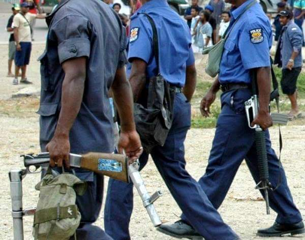 BUSINESSES WARNED OF SECURITY GUARDS IN POLICE UNIFORMS