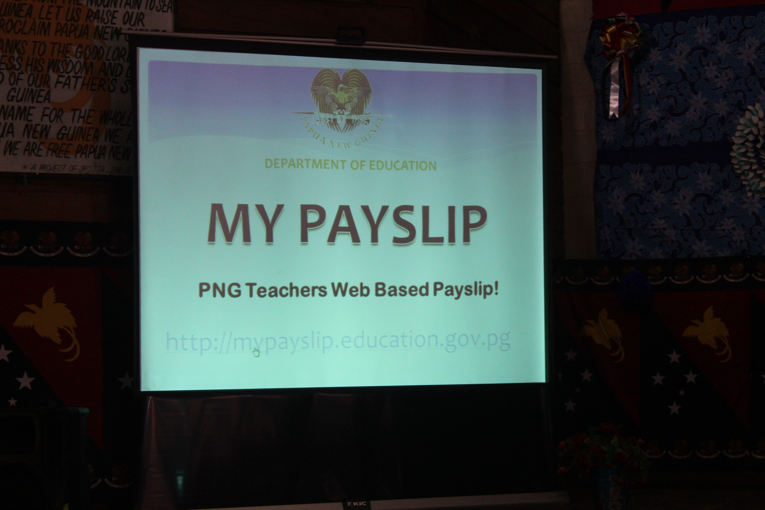 TEACHERS TO ACCESS PAYSLIPS ONLINE