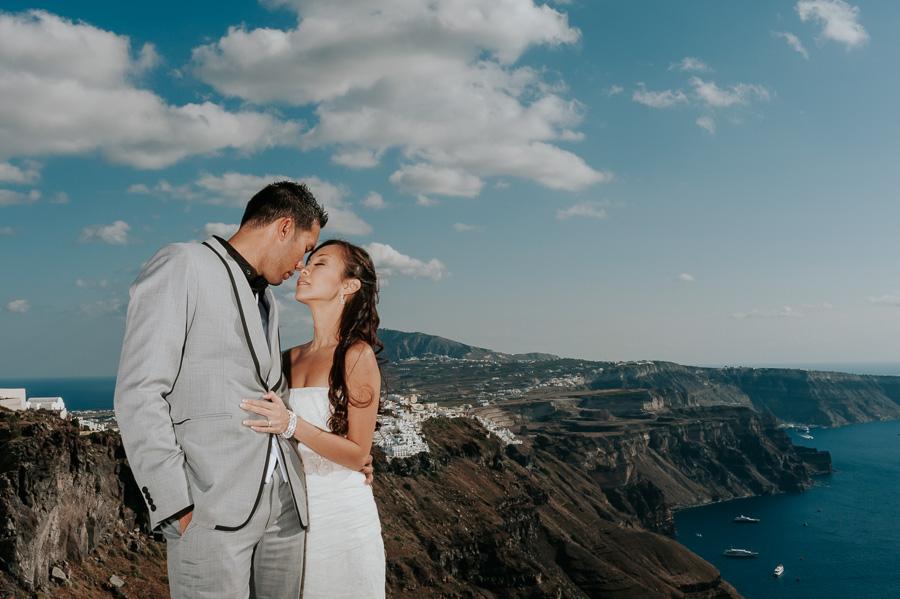 ρομαντικη pre wedding φωτογραφιση στη σαντορινη