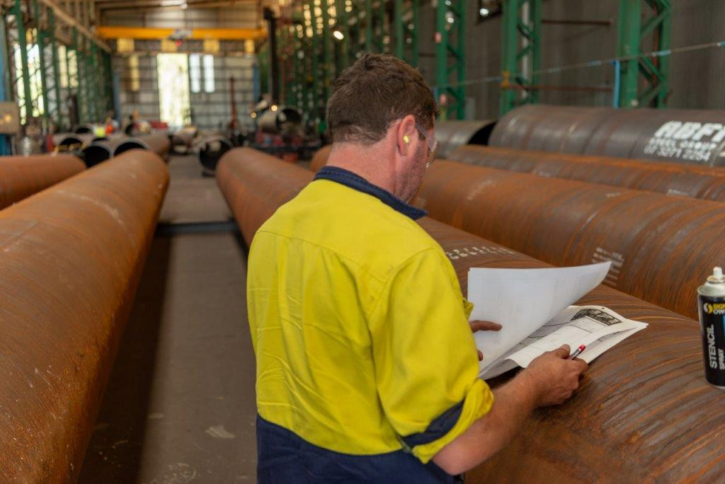 Quality Control of ABFI steel pile liners