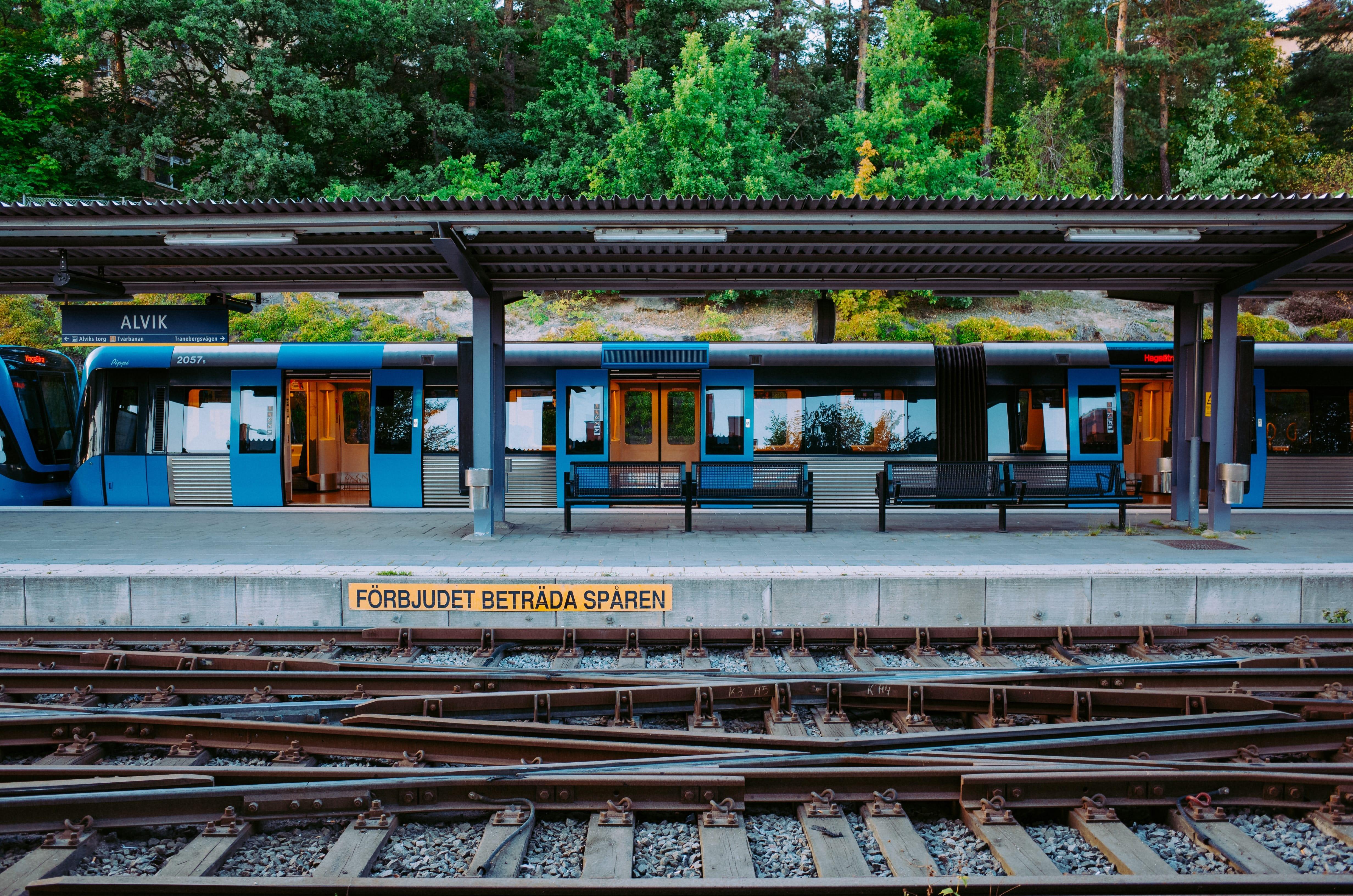 Train Station Alvik