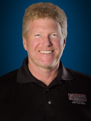 A picture of Steve Williams, the owner of Williams Plumbing & Drain Service