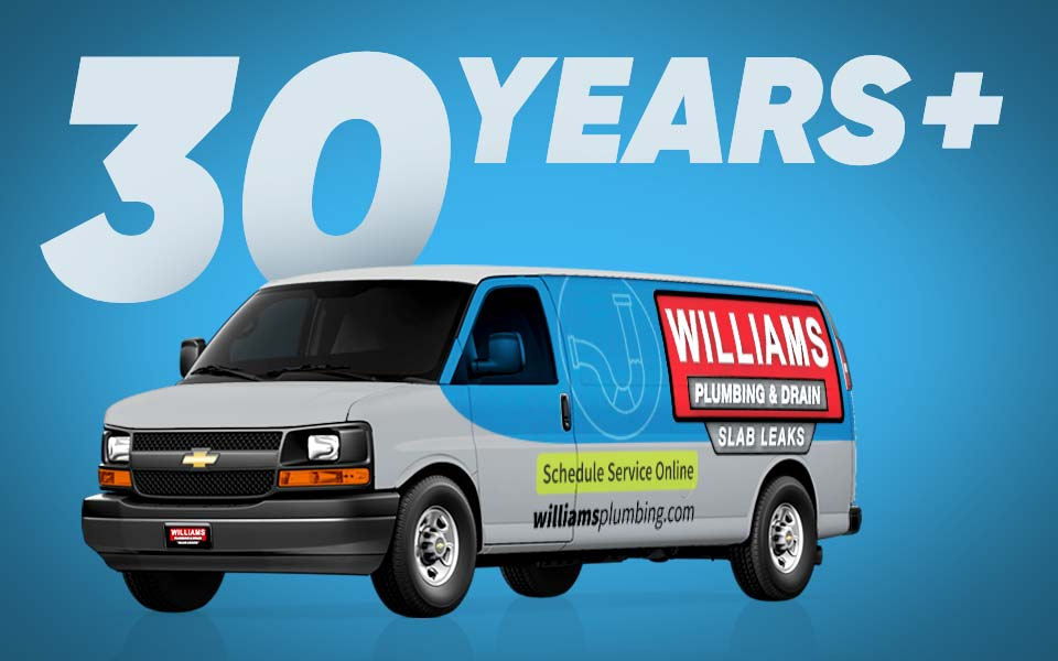 A Williams Plumbing Van