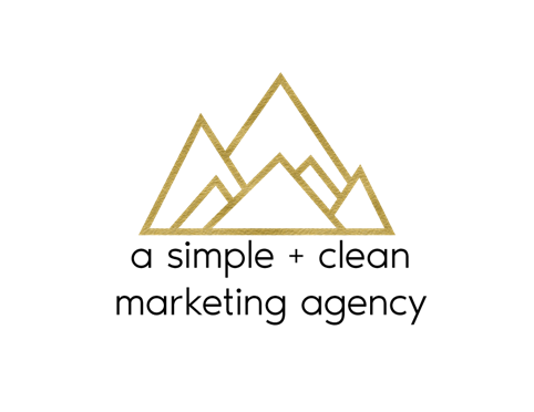 A Simple + Clean Marketing Agency New Life Behavior International Golf Gift Sponsor