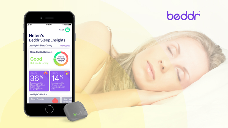 Beddr to Launch New Solution for Improving Sleep with $5.6 Million in Series A Funding