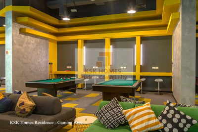 Student games room at uninestudents.ae in Dubai