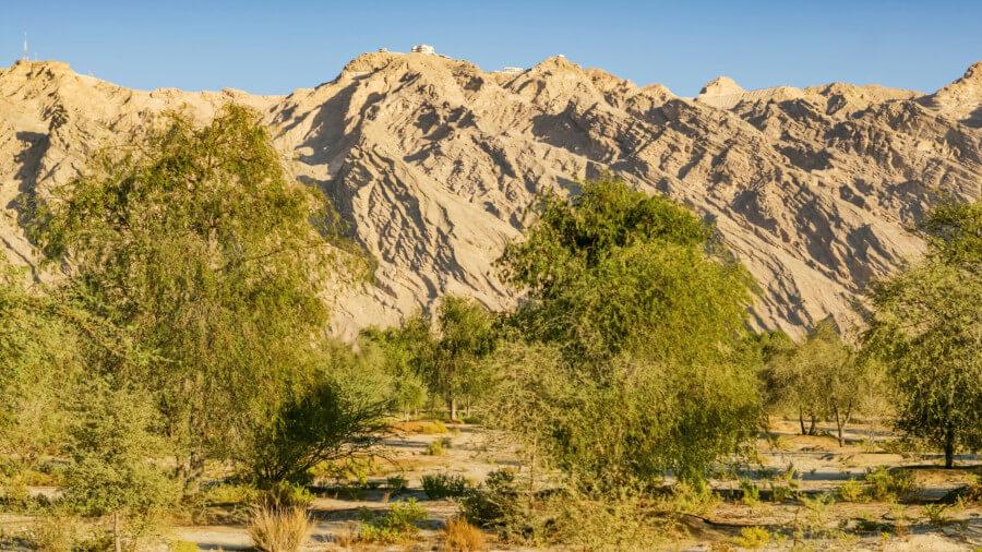Jebel Hafit mountain in Ras Al Khaimah