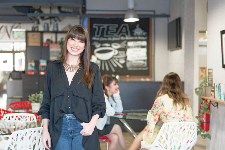 Women standing in Speak English Institute