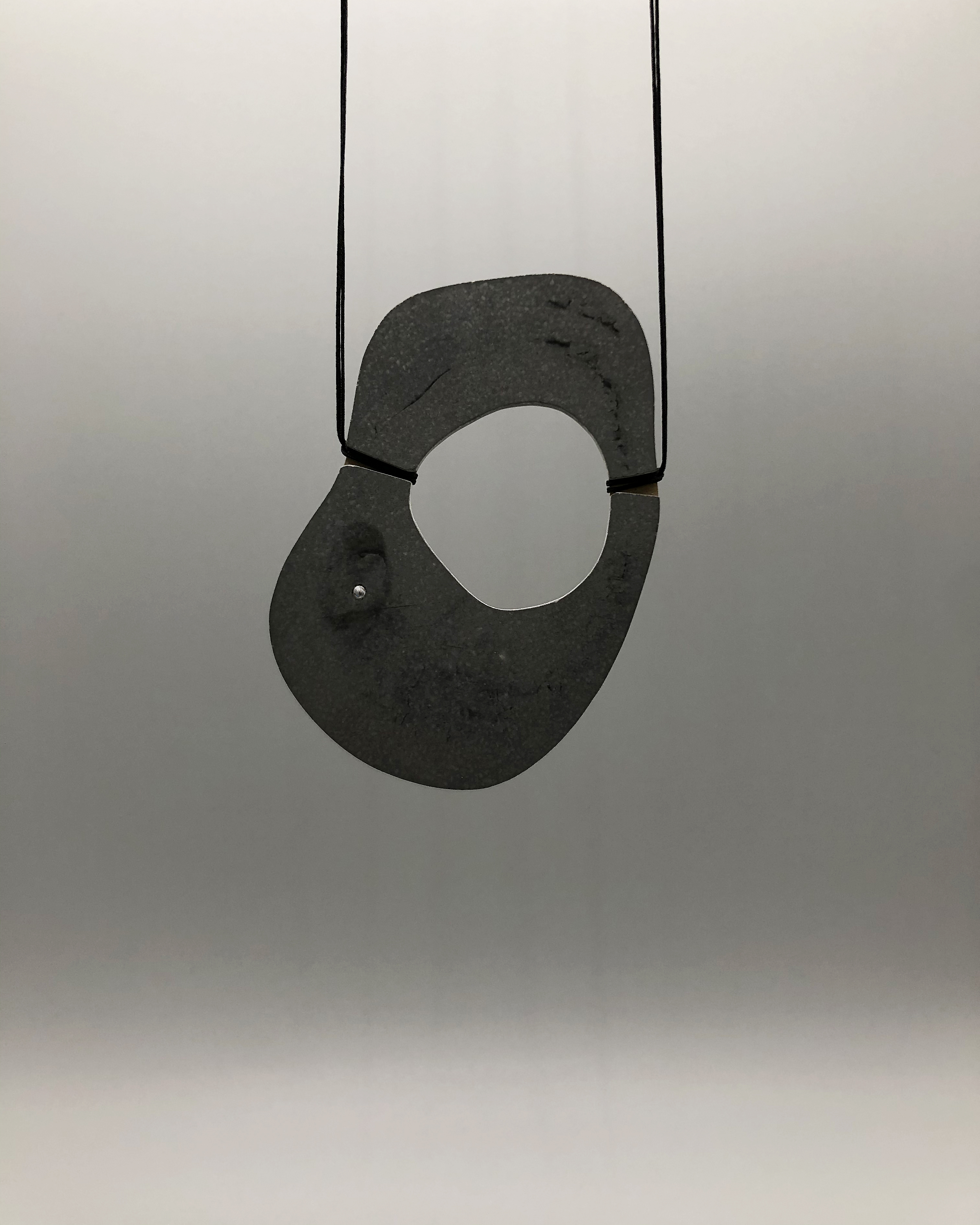'OREXIS-1' brass, concrete, zircon 2020