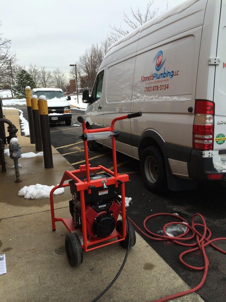Kinnett Plumbing service van and equipment for plumbing