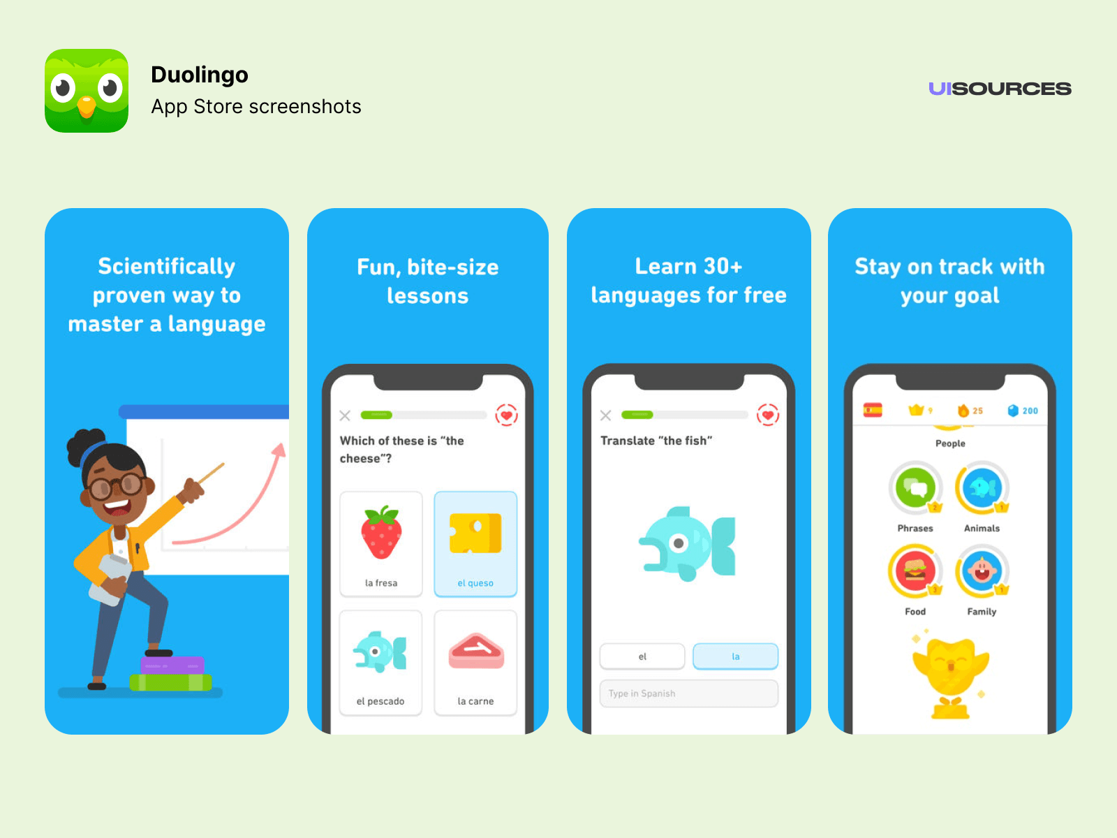 Duolingo - Learn Spanish, French and more | UI Sources