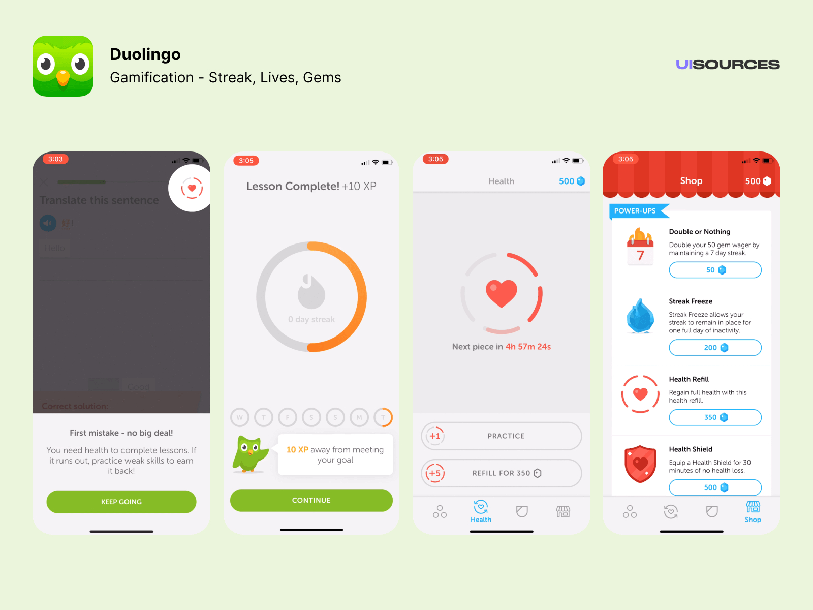 09 duolingo gamification daily streak lives gems