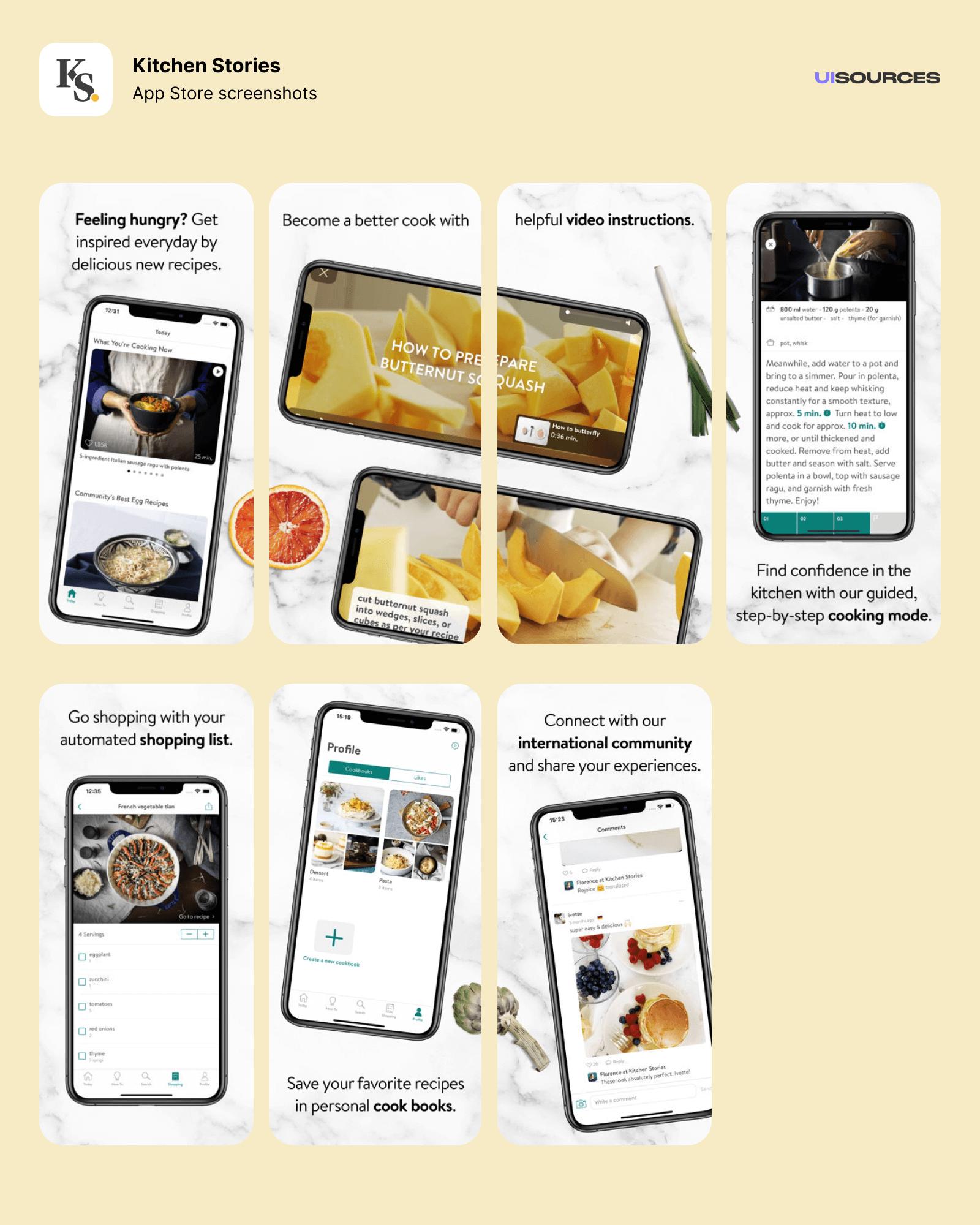 01 kitchen stories app store screenshots
