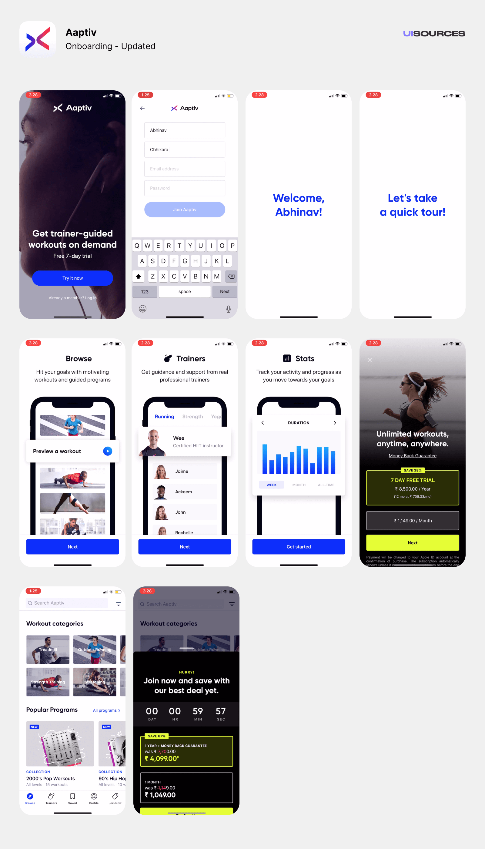 03 aaptiv onboarding updated