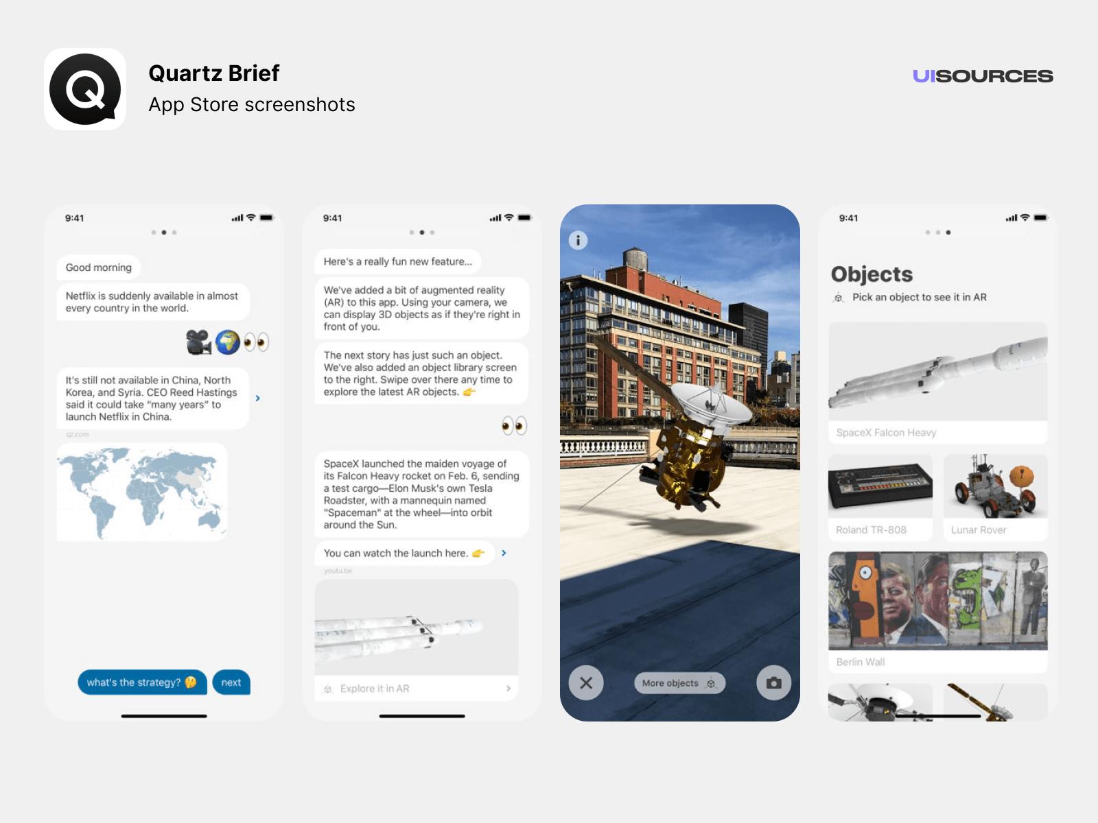 01 quartz appstore screenshots
