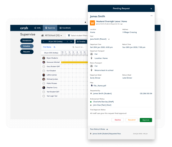 Streamline permission workflows and leave requests