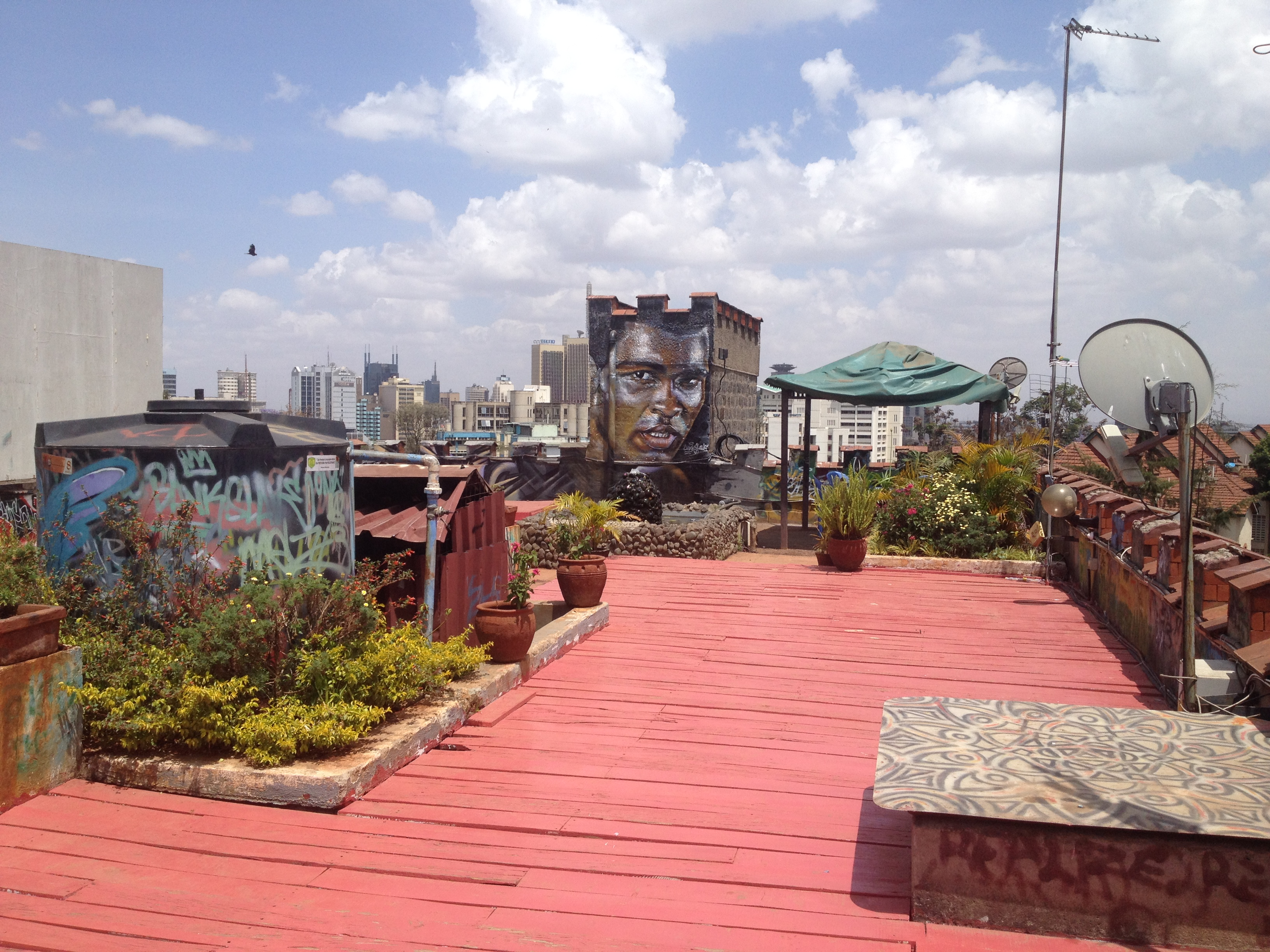 Image of outdoor space in Kenya.