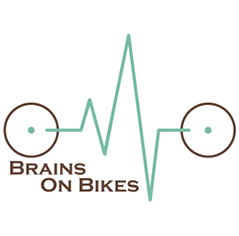 Brains on Bikes logo