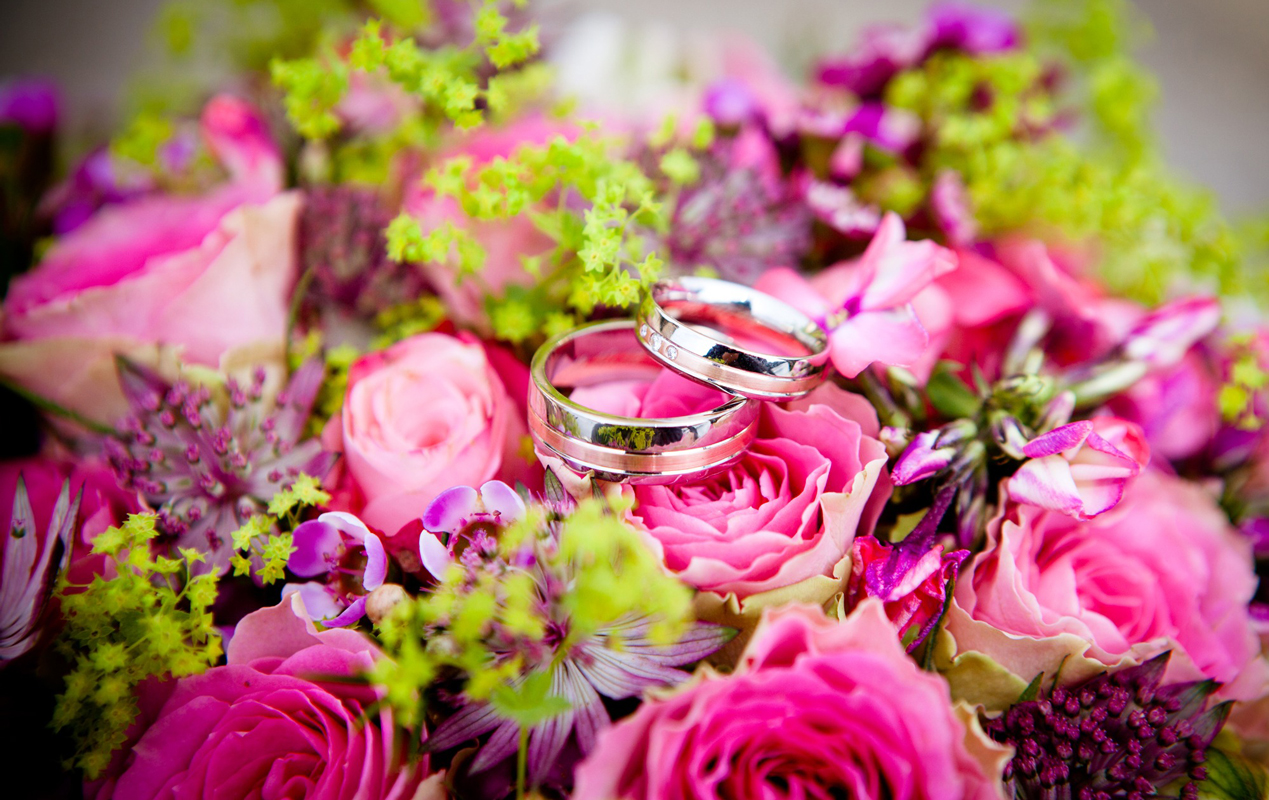 Wedding flowers and floristry