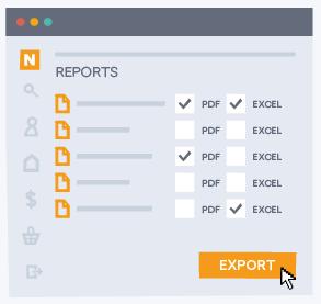 Nexudus Reporting Formats