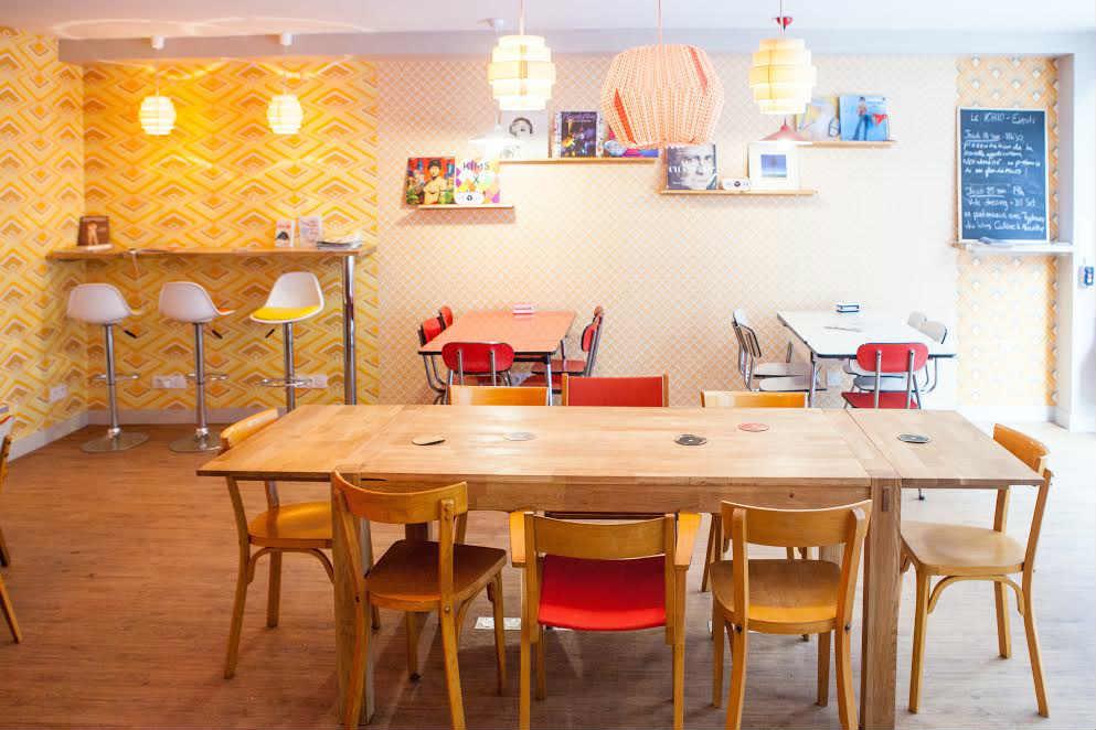 Parisian Coworking Cafe