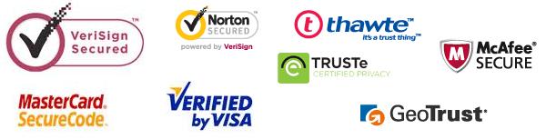 eCommerce trust logos