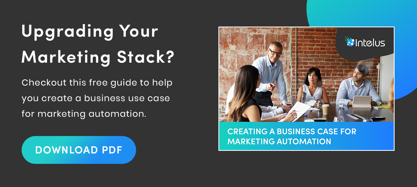 Creating a business case for marketing automation