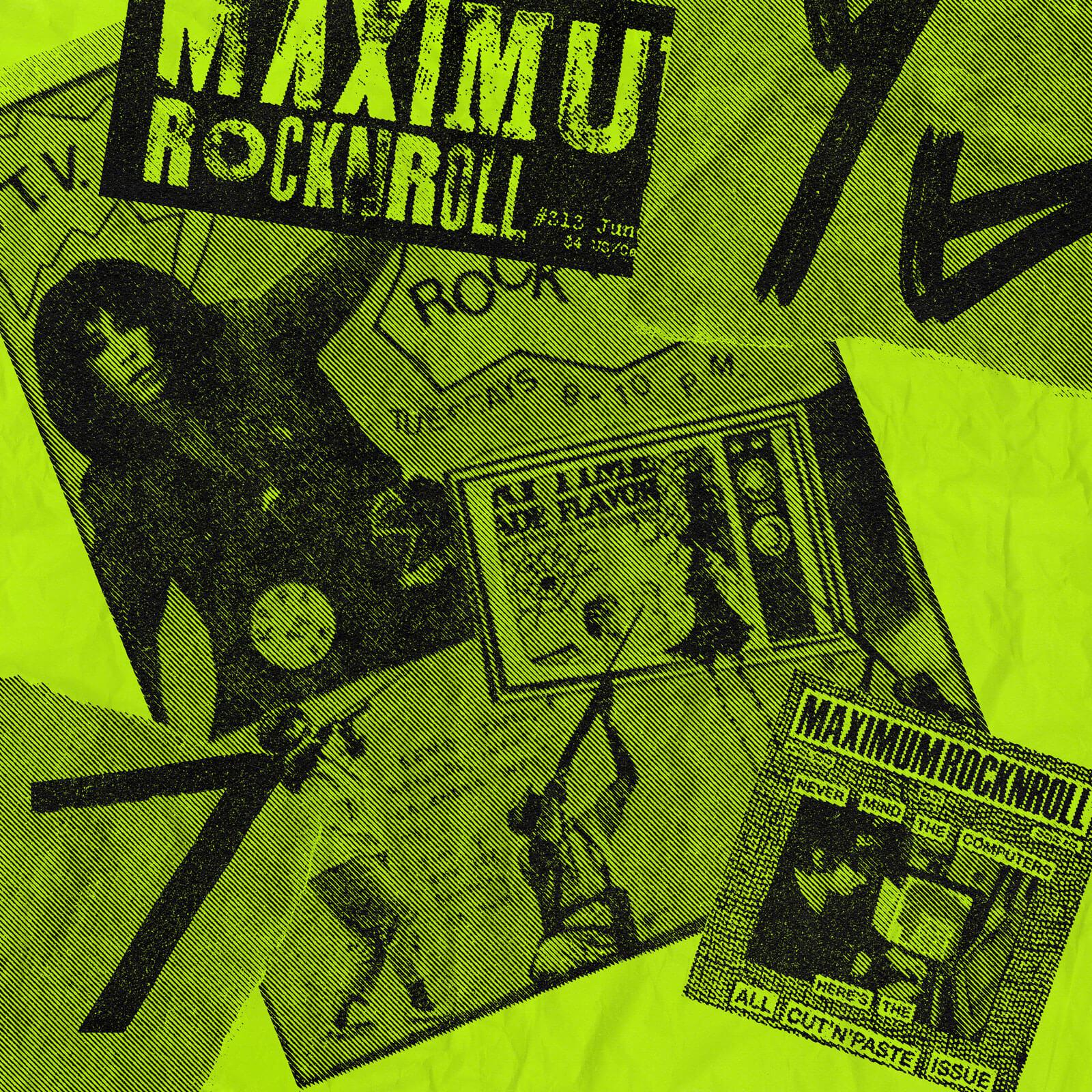 Maximum rock n roll collage.