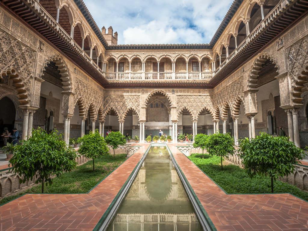 Alcázar in Seville