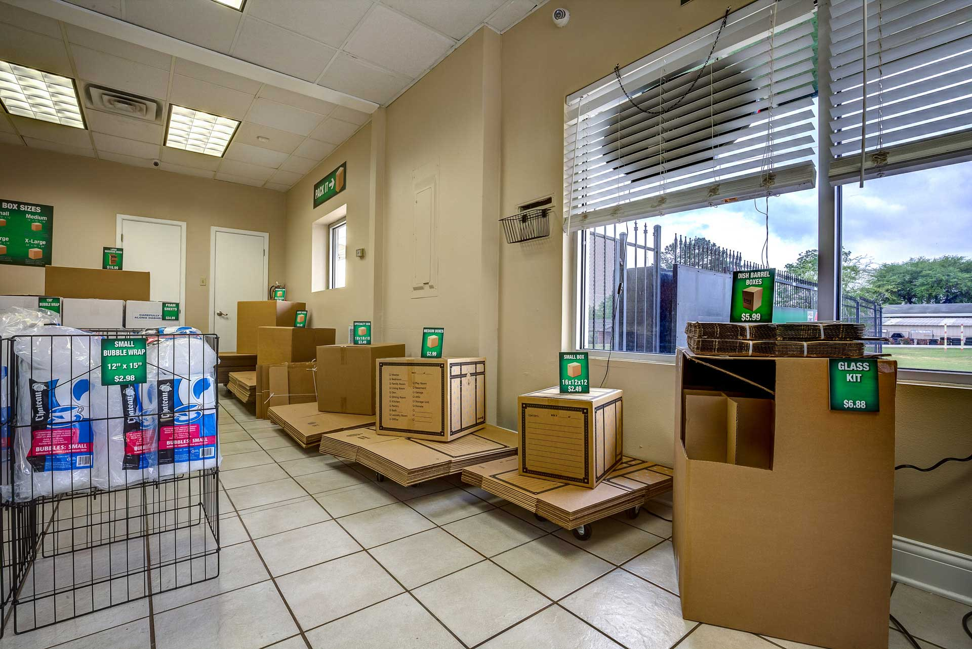 Nacogdoches Self Storage Full Service Mail Center We sell boxes and moving supplies