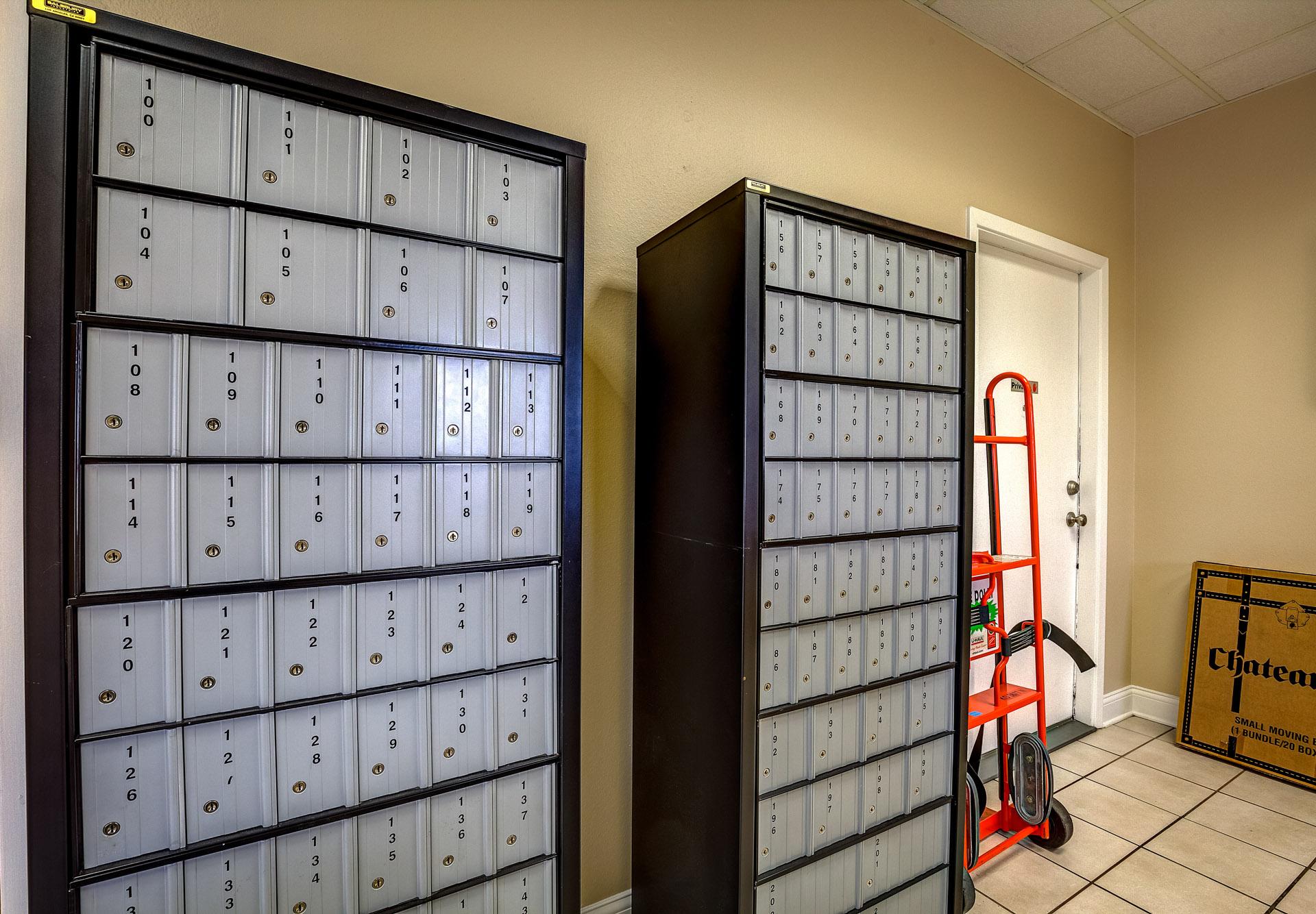 P.O. box rentals with no deposit starting at $30