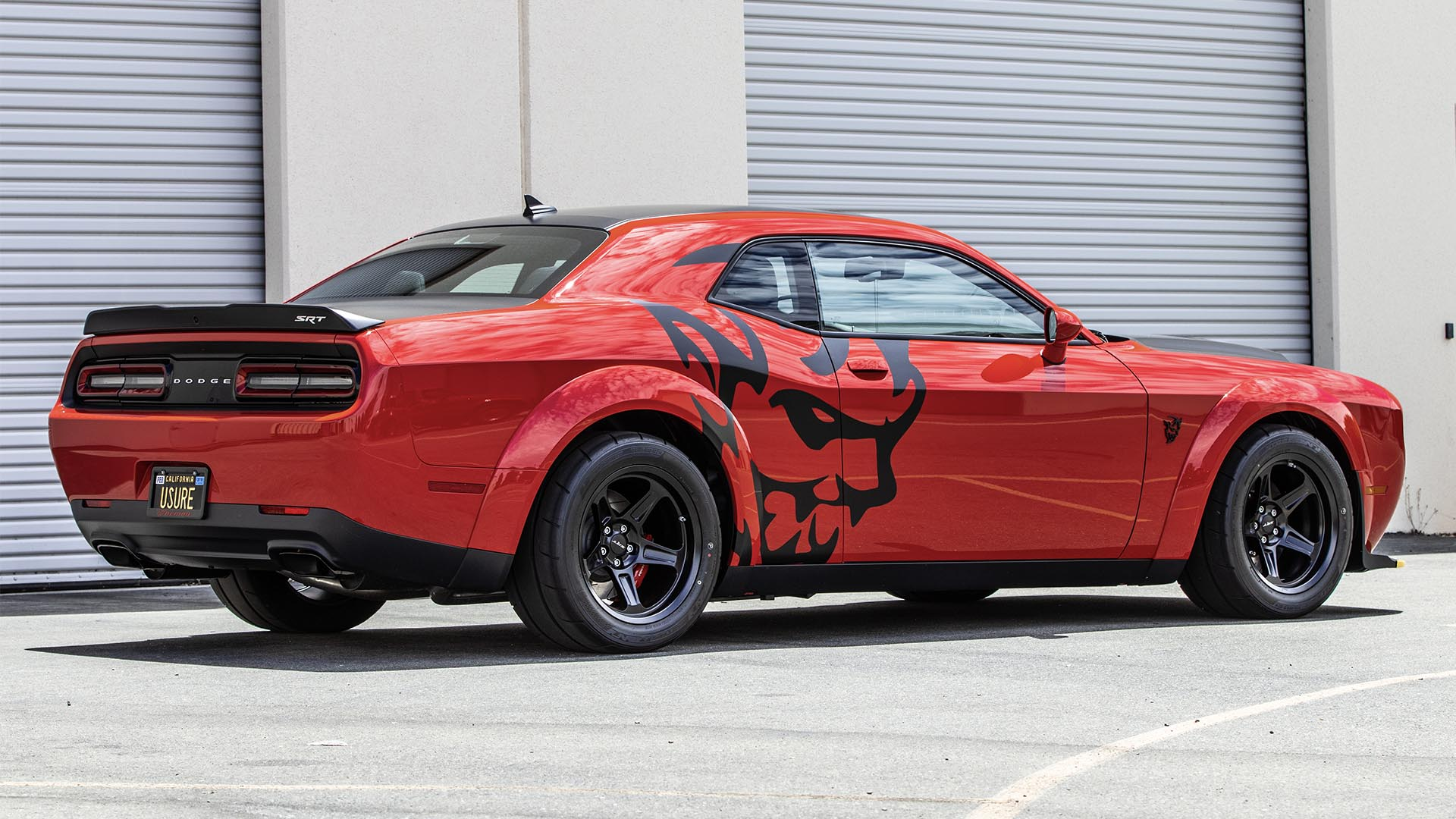 2018 Dodge Challenger Srt Demon Decal Paint Wraps Palmer Signs Inc