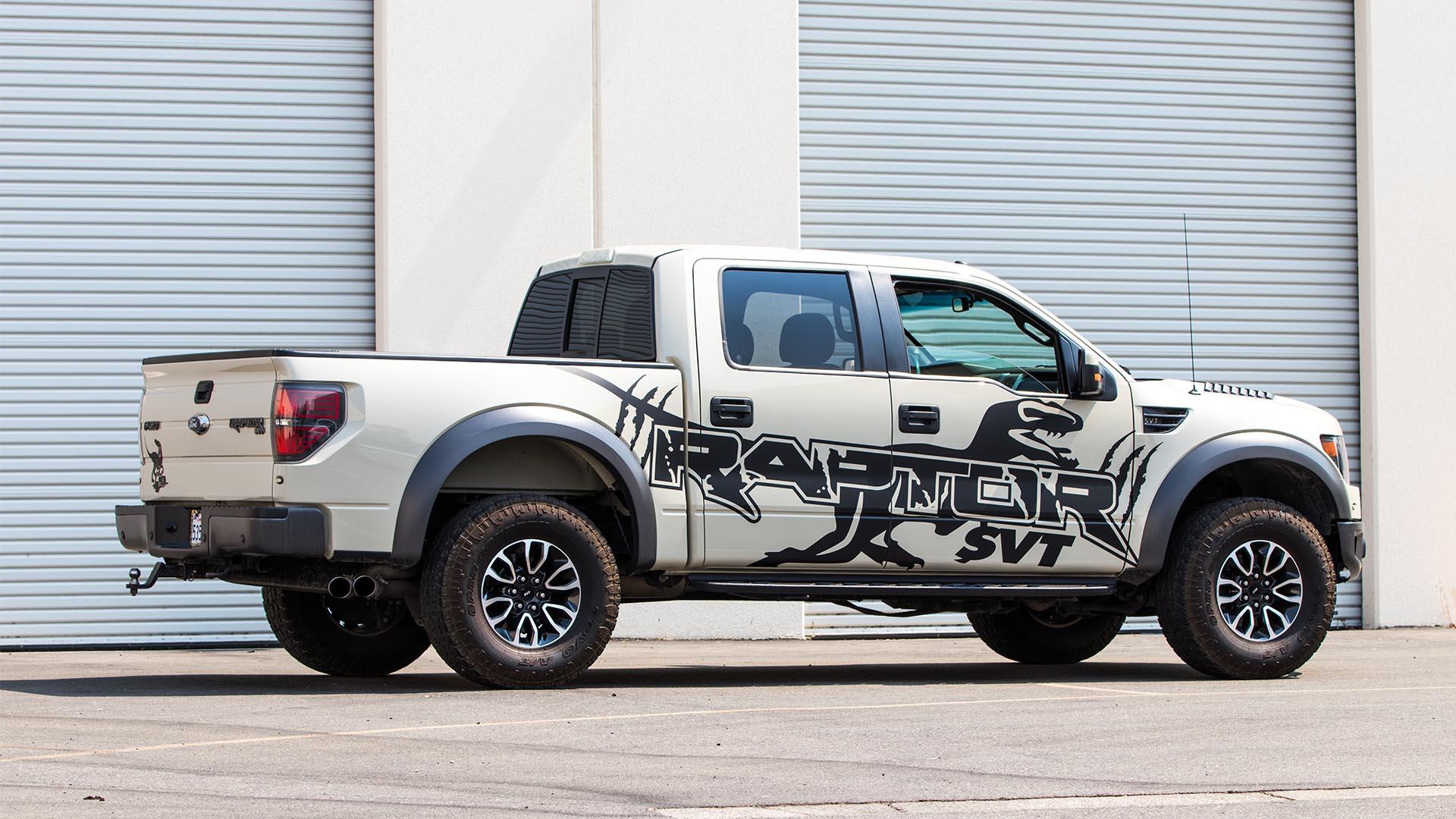 2014 Ford Raptor Quot Raptor Quot Decal Paint Wraps Palmer