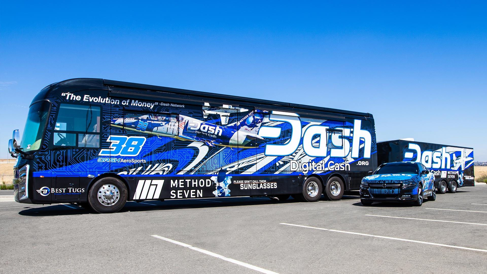 Dash AeroSports Digital Cash Fleet Wrap - Vehicle Wraps